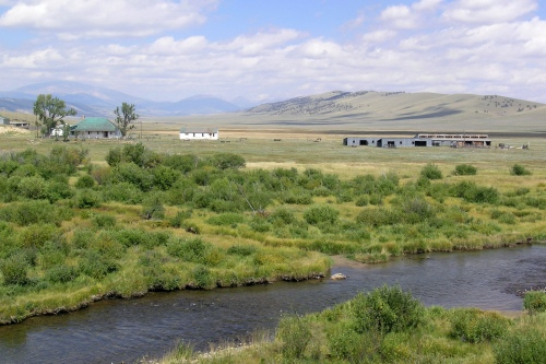 South Park's Buffalo Peaks Ranch, future home of the Rocky Mountain Land Library's global collection of books on people and the land -- from the Arctic to the African savannas.