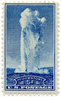 old faithful stamp