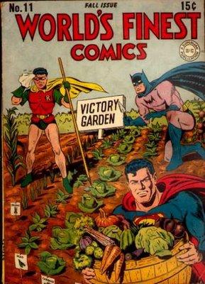 DC Superheroes dig Urban Farms!