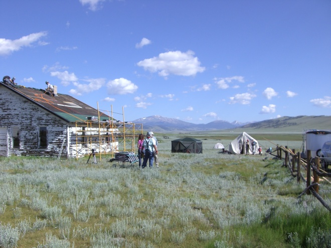 The Bunkhouse gets a long-awaited new roof!