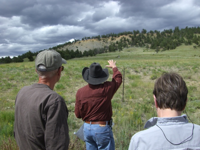 Man in Black: Vince Matthews describing the importance of the Pierre Shale to valley formation in South Park.
